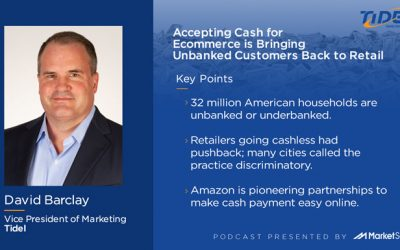 Accepting Cash for Ecommerce is Bringing Unbanked Customers Back to Retail