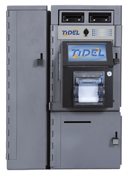 Tidel Series 4 with Narrow Side Vault and Small Drop Vault