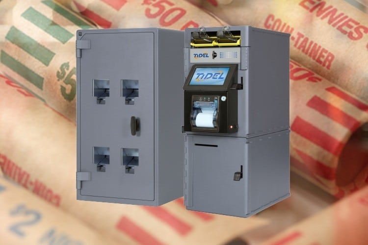 Minimize Change Order Fees with the Tidel Rolled Coin Dispenser