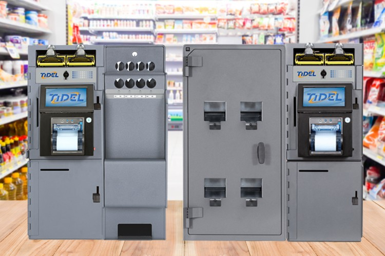 Image of Tube Vend and Rolled Coin Dispenser, Representing Automated Coin Dispensing Systems