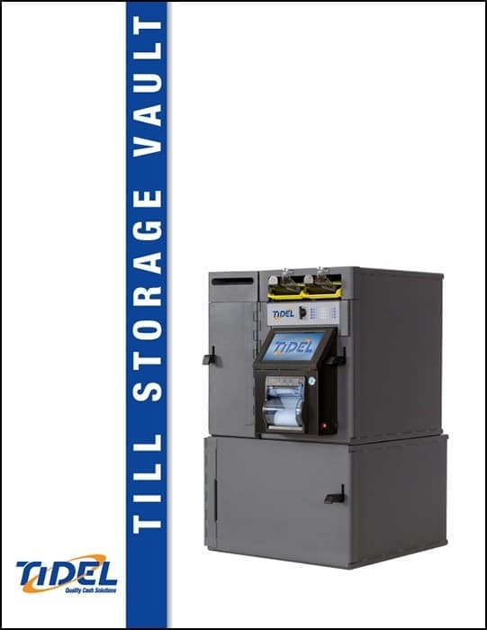 Tidel Series 4 Till Storage Vault Spec Sheet