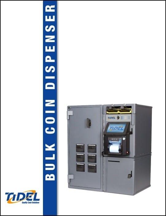 Tidel Series 4e Bulk Coin Dispenser Spec Sheet