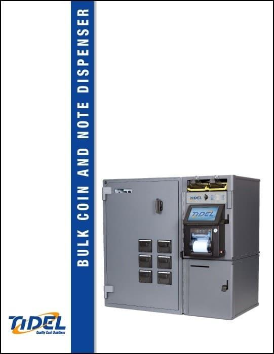 Tidel Series 4e Bulk Coin and Note Dispenser Spec Sheet