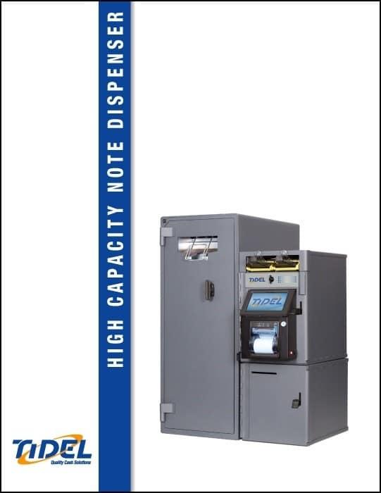 Tidel Series 4e High Capacity Note Dispenser PDF