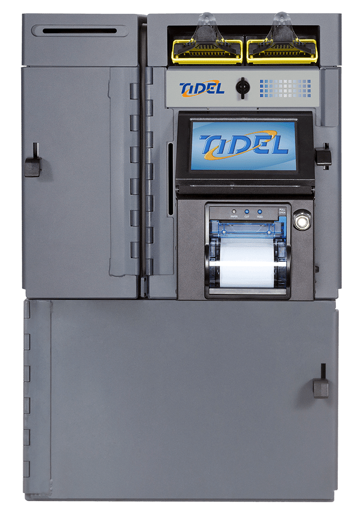 Tidel Series 4 with Till Vault and Side Vault
