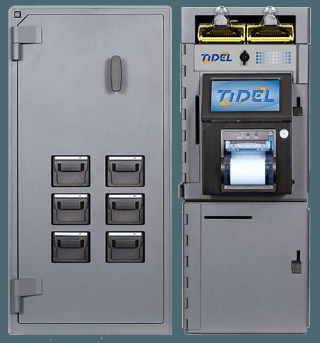 Tidel Series 4e Bulk Coin Dispenser 6 Cup