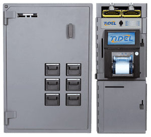 Image of Tidel Series 4e Smart Safe with Bulk Coin and Note Dispenser