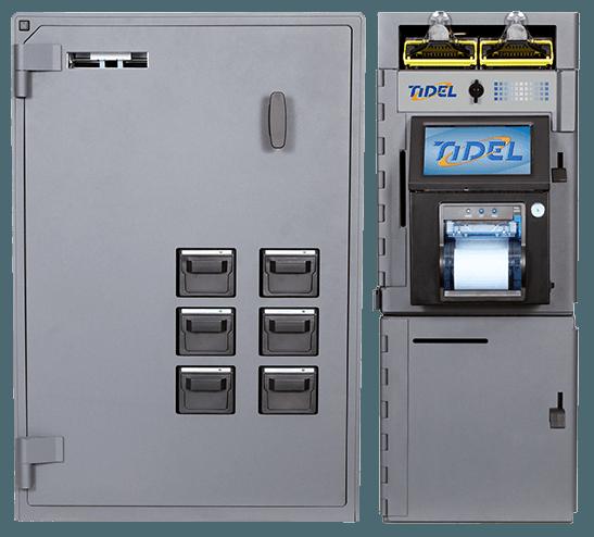 Tidel Series 4e Bulk Coin and Note Dispenser