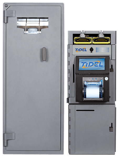 Tidel Series 4e High Capacity Note Dispenser 4 High