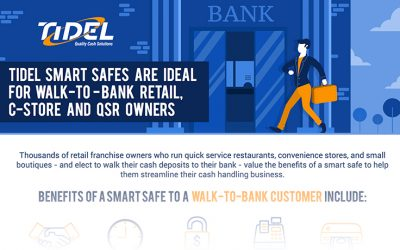 Tidel Provides Secure Cash Automation for Walk to Bank Customers