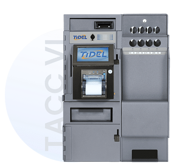Image of Tidel Series 3 Smart Safe with Single Coin Acceptor