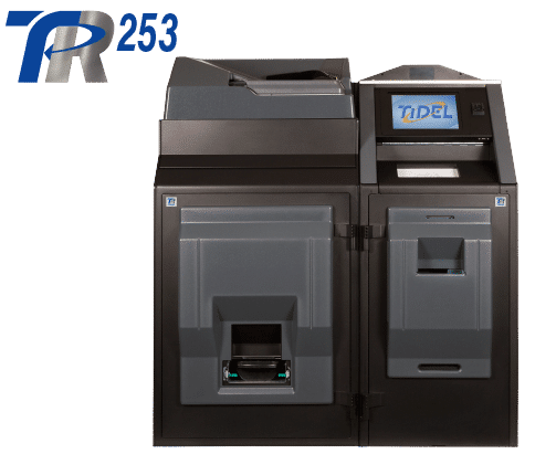 Tidel Series 4e with Bulk Coin Dispenser and Recycler