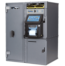 Image of Tidel Series 4e Smart Safe with Low Capacity Note Dispenser