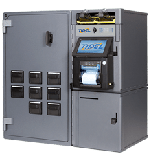 Tidel Series 4e with Bulk Coin Dispenser