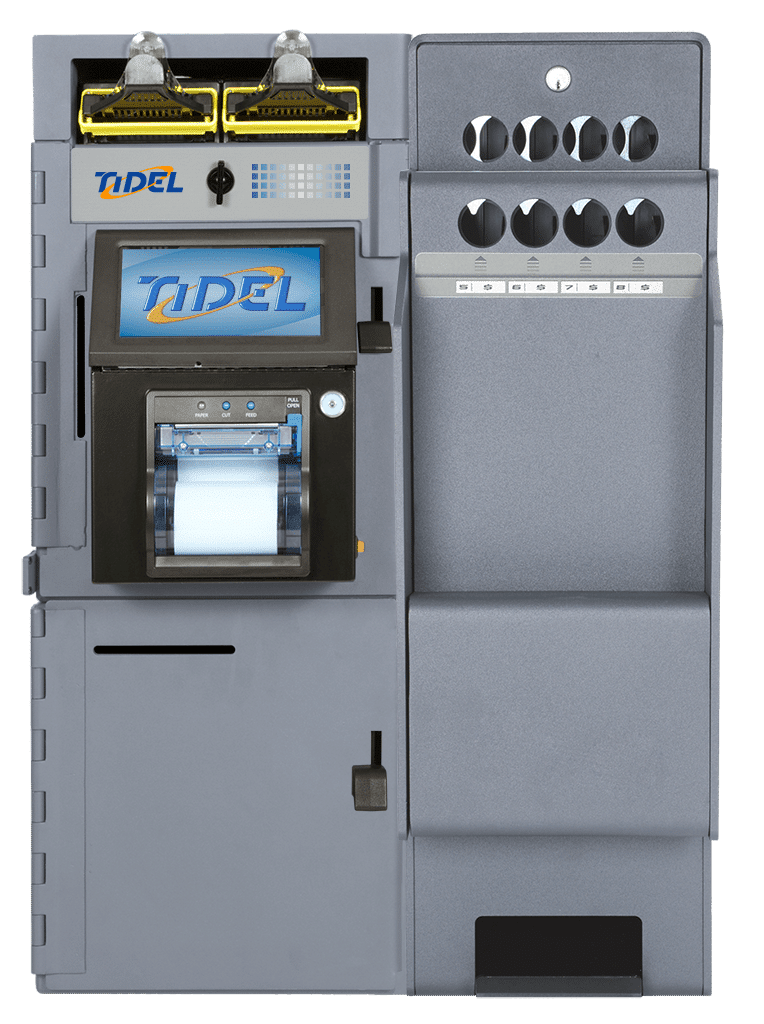 Tidel Series 4 with Tube Vend